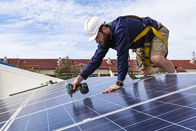 electrician solar roof